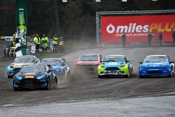 Oliver Solberg victorious in Strangnas!