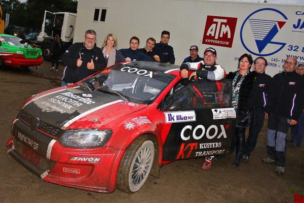Coox kampioen, maar mist Dreux....