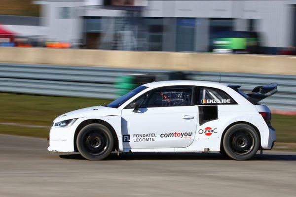 François Duval test Audi S1 EKSRX in Mettet!