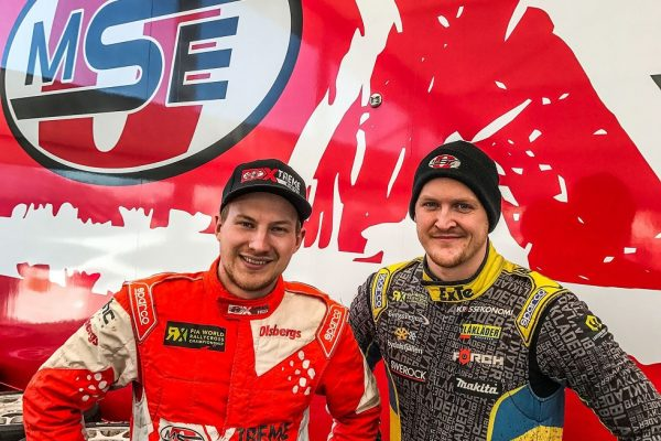 PR: Eriksson and Larsson for OMSE in WorldRX!