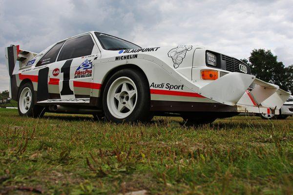 Spectaculaire Audi demo in Valkenswaard!