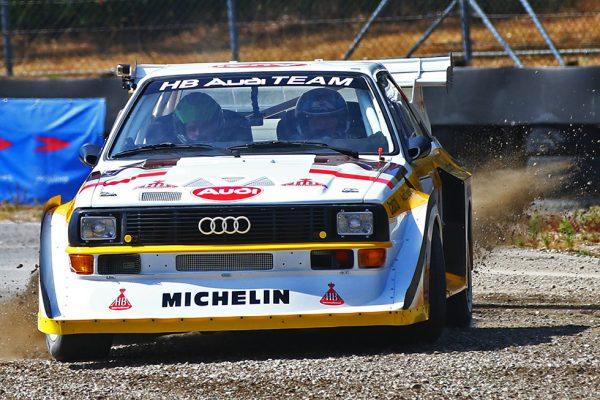 Audi spektakel op Duivelsbergcircuit!