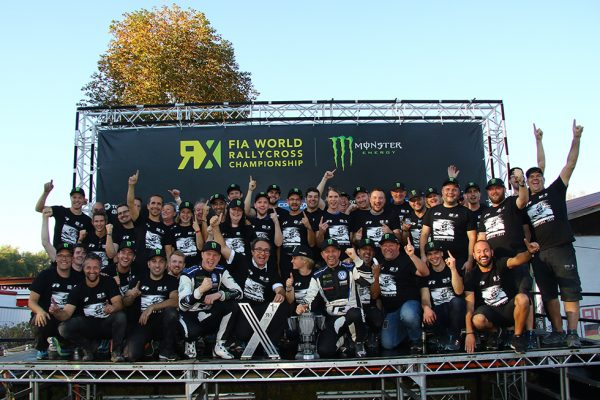 PR: PSRX VOLKSWAGEN SWEDEN CLAIM WORLD RX TEAMS' TITLE IN GERMANY