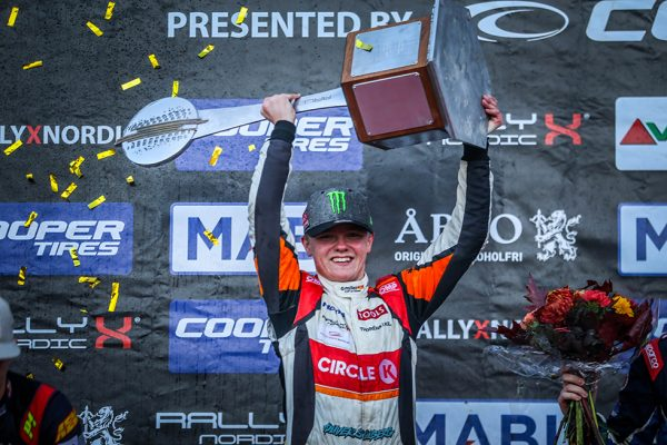 PR: Oliver Solberg holds his nerve to clinch 2018 RallyX Nordic title