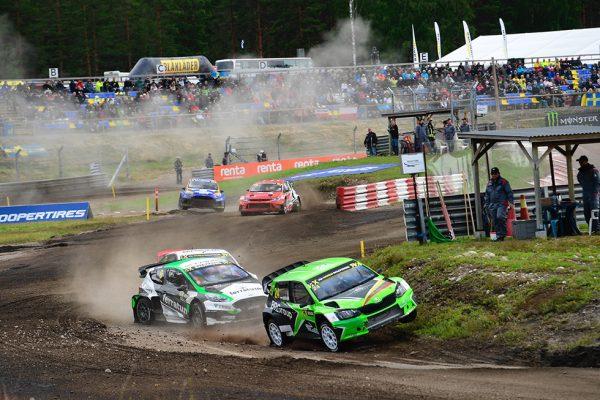 WRX: Abbring naar semi-finales in Höljes!